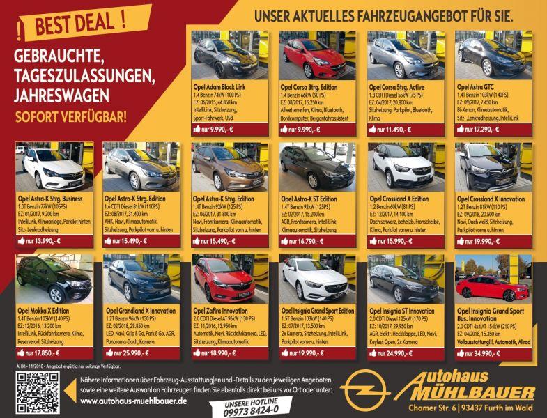 Best Deal Angebote Im November Autohaus Mühlbauer Ihr